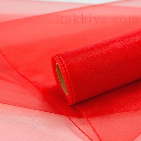 Organza rolls Red, 36 cm/ 10 Y (36/10/3680)