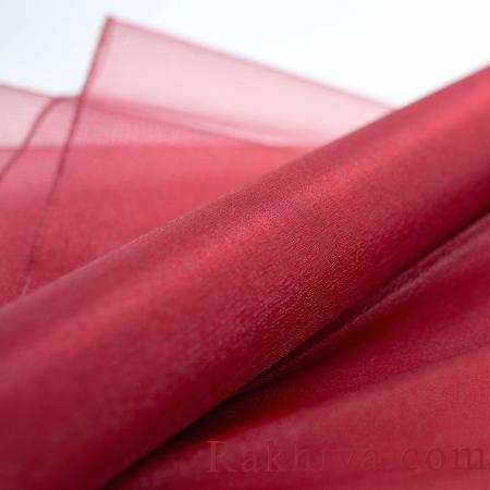 Organza rolls Bordeaux, 36 cm/ 10 Y (36/10/3686)