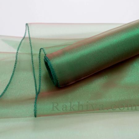 Organza rolls Dark green, 36 cm/ 10 Y (36/10/3665)