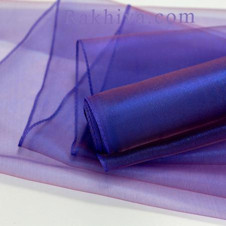Organza rolls Dark blue, Purple, 47 cm/ 10 Y,  (49/10/3659)