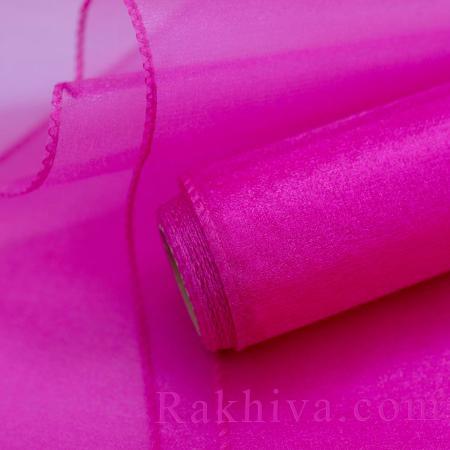 Organza rolls, 47 сm/ 10 Y, Fushia (49/10/3645)