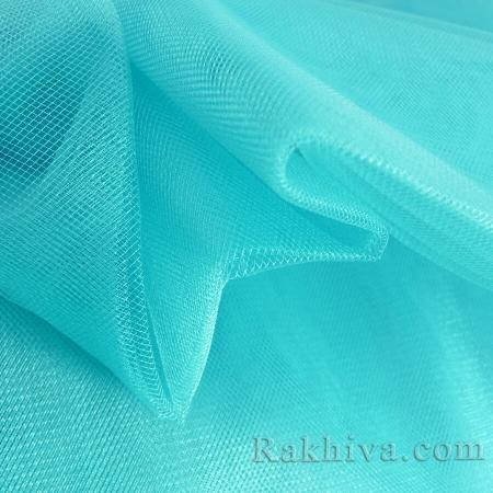 Crystal tulle turquoise, turquoise 1m (3 m2) 85/57
