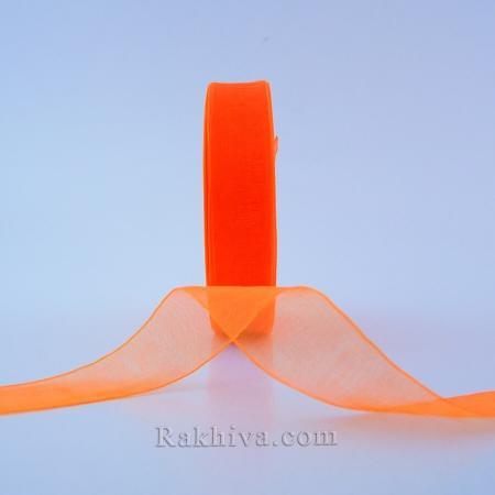 Woven ribbons light orange, lt. orange (20mm / 50Y) (20/50/2274)
