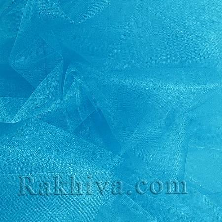 Crystal tulle sea blue, sea blue 1m (3 m2) 85/56
