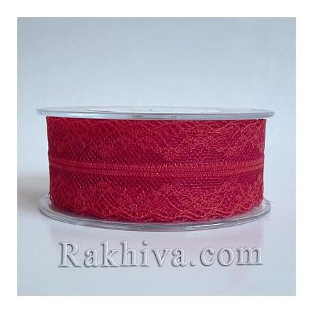 Lace Venice, 40 mm/9 m , red (40/10/325-2/80)