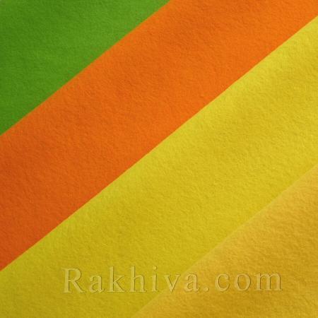 Soft felt, 80cm/100  сm lime green (80/100/674) - Soft felt