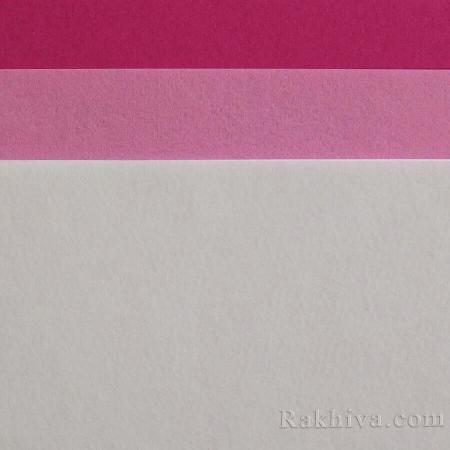 Felt, 2/ (209/S20) dark pink - hard felt