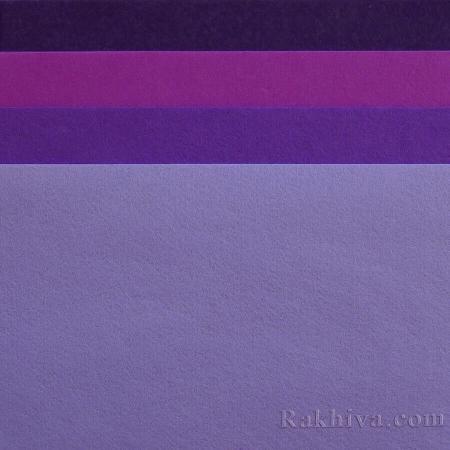 Felt, 4/ (18)  purple - hard felt