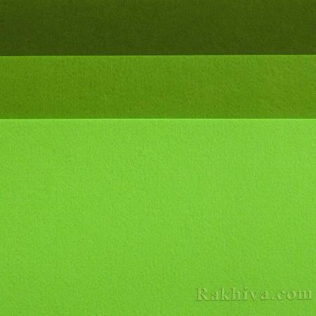 Felt, 5/ (230) dark lime green - hard felt