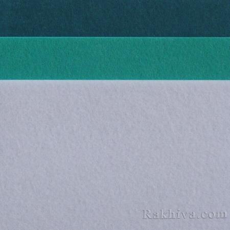 Felt, 3/ (S30)  pastel blue - hard felt