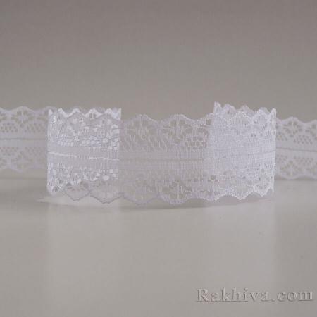 Lace Rome, 30mm/9m white (30/10/1658-2/10)
