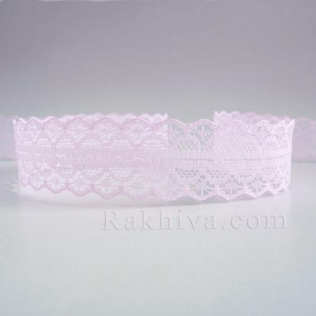 Lace Rome, 30mm/9mm lt. pink (30/10/1658-2/41-1)