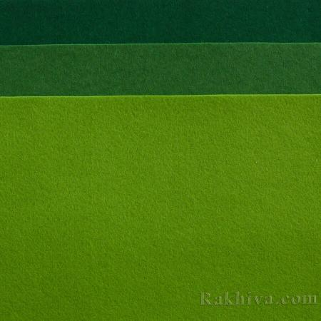 Soft felt, 6/ (672) dark green