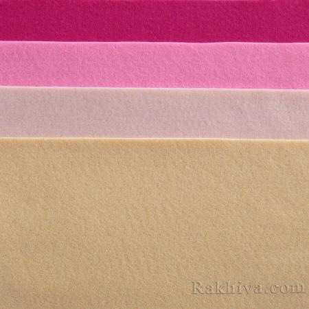 Soft felt, 1/ (612) dark hot pink