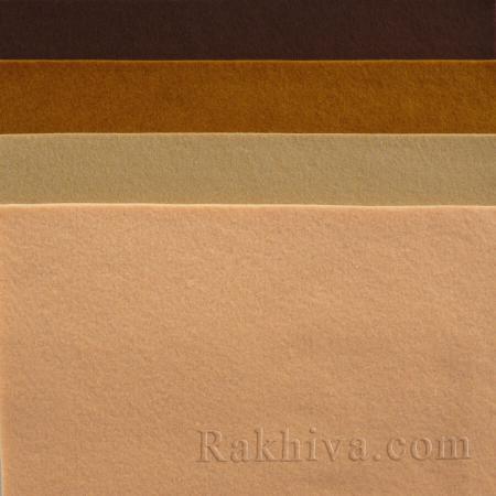 Soft felt, 9/ (687) dark brown