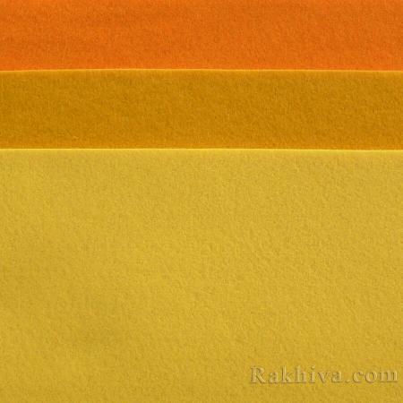 Soft felt, 7/ (645) lt. orange