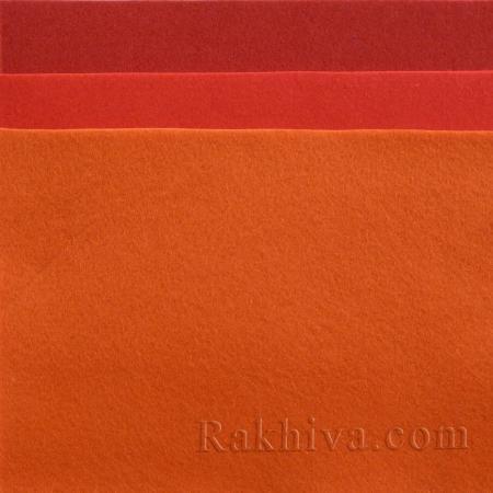 Soft felt, 8/ (603) red