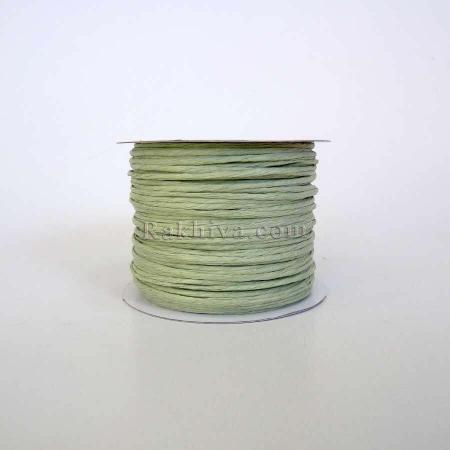 Paper rope (wired), mint (2/50/6160-2) (roll 50m)