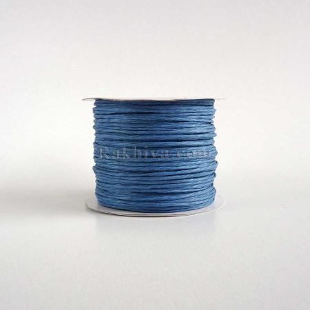 Paper rope (wired), blue (2/50/6150) (roll 50 m)